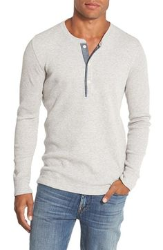 Bonobos+Slim+Fit+Waffle+Knit+Henley+available+at+#Nordstrom