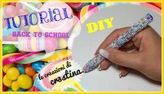 BACK TO SCHOOL - Penna CANDY Rivestita di Perline DIY Tutorial