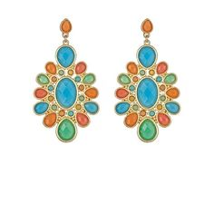 Fornash Cabana Sun Earrings ($25) ❤ liked on Polyvore featuring jewelry, earrings, jewelry earrings, long earrings, fornash, studded jewelry, stud earrings and earrings jewelry