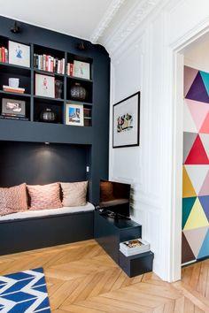 Create a custom reading corner at home - Decor, Room Makeover, Living Room Furniture, Interior, Interior Inspiration, Home, Space Room, Home Deco, Interior Design