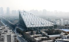 Beijing, Shopping mall and hotel new