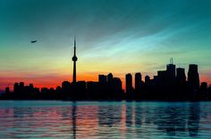 Toronto Silhouette by Peter FK on 500px