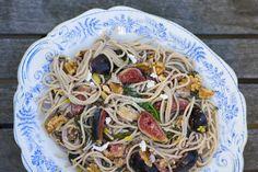 Fig and Walnut Spaghetti
