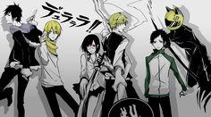 durarara | Tags: Anime, DURARARA!!, Ryuugamine Mikado, Heiwajima Shizuo, Sonohara ...