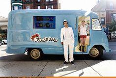 Designer ice cream trucks
