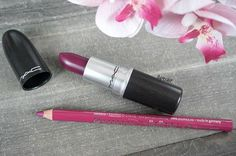 Hey babes!  I'm still fighting this flu, ugh! But here's today's dupe for you guys - MAC 'Rebel' (20,50€) vs. essence cosmetics Lipliner in the shade 'Honey Berry' (0,99€). Even it's for spring and summer - I absolutely love this deep purple colors. They're perfect year round.  I'll post swatches later, after work.  What MAC dupes or dupes in general should I find next for you guys? Let me know in the comments below.  . . Hallo meine Lieben, diese Grippe will einfach nicht nachlas...