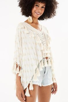 blusa tassels abacaxi