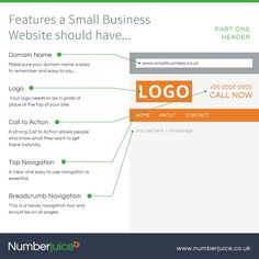 Five essential features your small business #website should have: Part One!