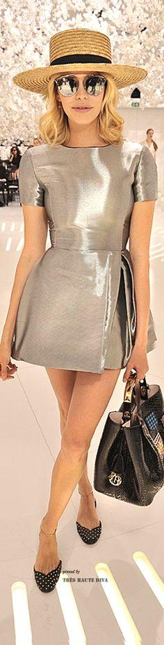 ~Elena Perminova at the Christian Dior Autumn/Winter 2014-2015 Couture Show | House of Beccaria