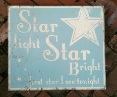 Star Light Star Bright Small size 9 x 10 by GoJumpInTheLake, $24.00