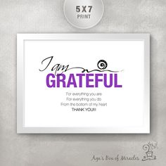 this is nice iamgrateful5x7inspirationalquoteprint