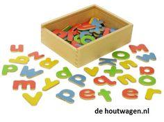 alfabet magneetletters groot en klein