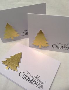 Items similar to Christmas cards. on Etsy – Christmas DIY Holiday Cards Simple Christmas Cards, Homemade Christmas Cards, Christmas Cards To Make, Homemade Cards, Holiday Cards, Christmas Diy, Christmas Decorations, Elegant Christmas, Christmas Items
