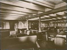 3rd Class, or Steerage passengers enjoyed a bit of luxury as well. Not as nice as 1st or 2nd Class, but, in most cases, much nicer than they were used too. 3rd class Lounge
