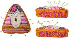 Cute pincushion by Amy Bradley