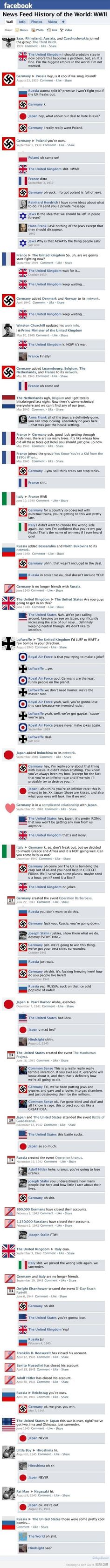 This is being posted on humor boards. WWII is now humorous. The loss of life was staggering and it's now a joke. I have a sense of humor. This is not funny to me. World History, World War Ii, Facebook Status, Facebook News, Facebook Style, Facebook Timeline, Funny Facebook, Facebook Drama, Fb News