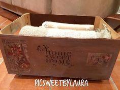 Decorar una caja con pintura chalk paint en spray   Manualidades