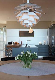 PH Artichoke pakabinamas šviestuvas. Dizainas Poul Henningsen