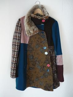 Inspiration for Harris Tweed re-use. renske mollink