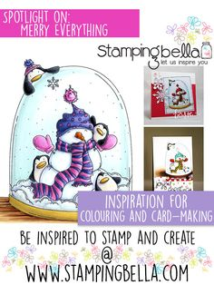 Spotlight On Merry Everything at Stamping Bella.