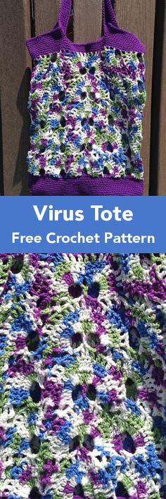 The Virus Bag Free Crochet Pattern – Krazykabbage