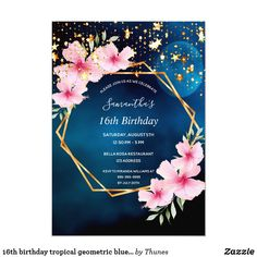 Shop birthday tropical blue sky stars invitation postcard created by Thunes. Personalize it with photos & text or purchase as is! 30th Birthday Party For Her, 80th Birthday, Birthday Party Invitations, Event Invitations, Star Wars, Sweet 16 Parties, Tropical, Stars, Design Ideas