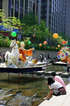 Cheonggyecheon lantern festival