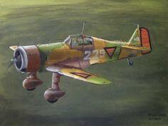 Fokker D.XXI by Srećko Bradić.