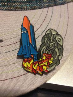 c91b51bedf2 Blast Off Bassnectar Pin by TripleWideDesigns on Etsy
