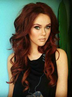 red hair olive skin brown eyes - Google Search