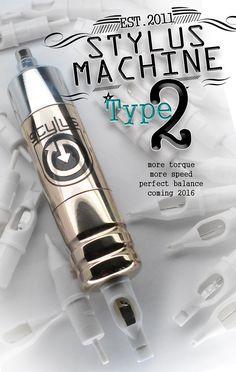 Stylus Rotary Tattoo Machines
