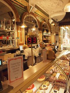 Harrods bakery and chocolates