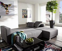 Ideen für ein Sofa mit Ottomane - Multifunktionalität liegt im Trend