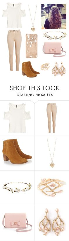 """""""First Date❤️"""" by sapphirelilirose13 ❤ liked on Polyvore featuring Tory Burch, Betsey Johnson, Cult Gaia, Shaun Leane, Ted Baker, women's clothing, women's fashion, women, female and woman"""