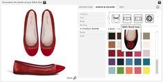 Amazing custom made balllet flats. Ballet Flats, Custom Made, Mood, Paris, Studio, Amazing, Shoes, Women, Fashion