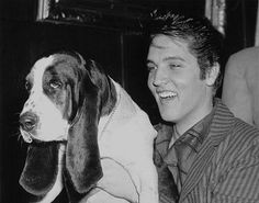 Elvis & Hound Dog