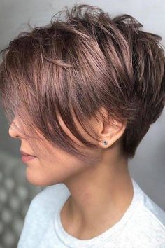 Ways To Get A Pixie Haircut No Matter Your Face Shape Get a . Ways To Get A Pixie Haircut No Matter Your Face Shape Get a Pixie Cut according to your face shape /. Short Hairstyles For Thick Hair, Short Pixie Haircuts, Haircuts With Bangs, Hairstyles Haircuts, Bob Haircuts, Braided Hairstyles, Pixie Haircut Styles, Toddler Haircuts, Stylish Hairstyles