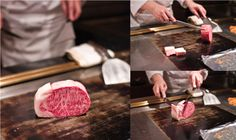 Wagyu beef at New Matsusaka Teppanyaki Restaurant in Japan via @Nami Kim | Just One Cookbook