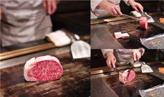 Wagyu beef at New Matsusaka Teppanyaki Restaurant in Japan via @Nami   Just One Cookbook