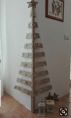 Diy christmas tree 805511083337063179 - Wall Christmas Tree Ideas that you can Make in No time – Ethinify Source by Ethinify Corner Christmas Tree, Cardboard Christmas Tree, Wooden Christmas Decorations, Unique Christmas Trees, Silver Christmas Tree, Christmas Tree Crafts, Christmas Wood, Christmas Projects, Simple Christmas