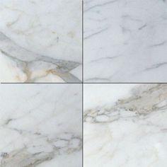 12 in. x 12 in. Italian Calacatta Gold Solid Honed Finish Marble Flooring Tile. #Flooring_Tile #Calacatta_Gold #Honed_Finish_Marble