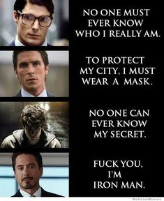 Fuck You I'm Iron Man