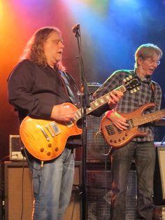 Warren Haynes and Phil Lesh at the Pre Jam.