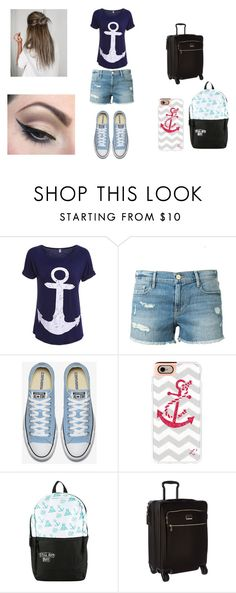 """GOT7 imagines"" by princess-emmi on Polyvore featuring Frame Denim, Casetify, Tumi and Mehron"
