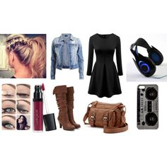 Untitled #95 by frozenheart-cxliv on Polyvore featuring VILA, Forever 21, Candie's, Zero Gravity and Laura Geller