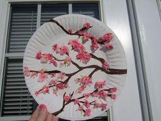 cherry blossom art (Japan)