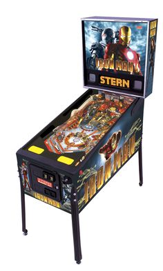 Iron Man pinball machine.