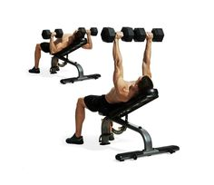 Build your chest and muscular balance without the traditional use of a barbell.