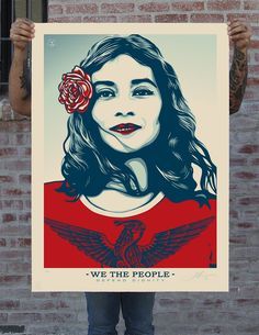 WE THE PEOPLE: PUBLIC ART FOR THE INAUGURATION AND BEYOND - Obey Giant