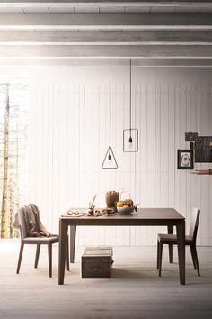 Mobili Alf Da Frè: arredamento soggiorno e arredamento casa tavolo CLIFF design haftenstudio